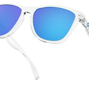 7fb6470b1c Oakley Frogskins Crystal Clear Collection – Sapphire Prizm